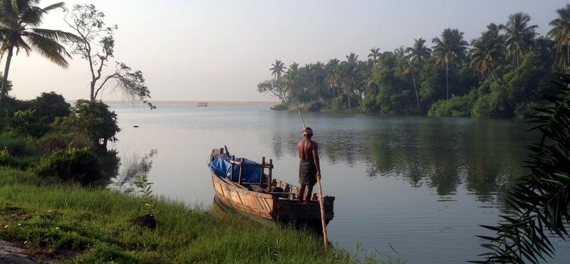Kerala Backwaters Intia